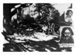 """Simone Weil 1909-1943""     charcoal   1991   76x55cm"